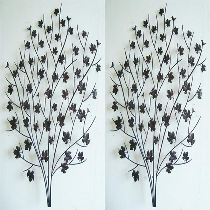 JY38413 나무월메탈데코 2개 식물지지대